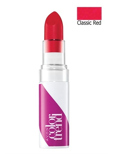 Avon Color Trend Mat Ruj Classic Red Kırmızı